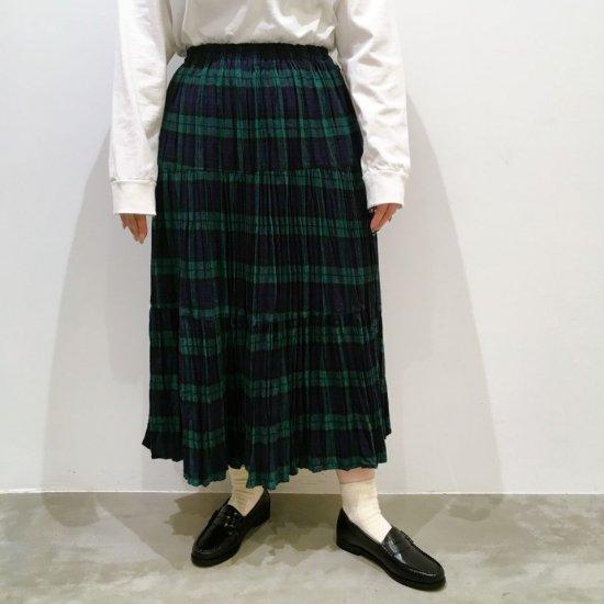Rockmount - コットンフランネル 3段ティアードスカート(rockmount9948)正規取扱商品