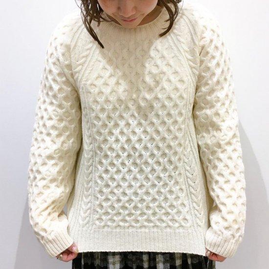 SARAHWEAR - フィッシャーマンズセーター(C11580)