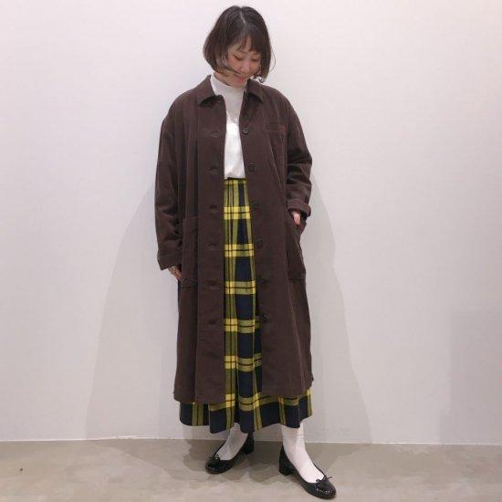 SARAHWEAR - AZUMADAKI Dyeing Soft Corduroy <Carpenter Coat>(C60157)