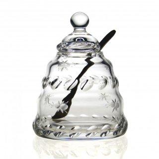 【BUZZY】Honey Jar with Spoon 4½