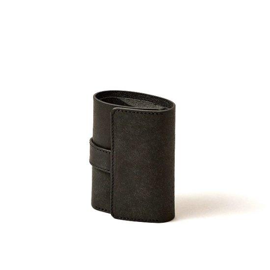 プエブロ 三つ折りコンパクト財布 / ブラック - 革コインウォレット ...