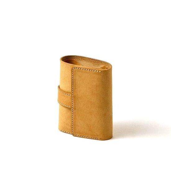 プエブロ 三つ折りコンパクト財布 / イエロー