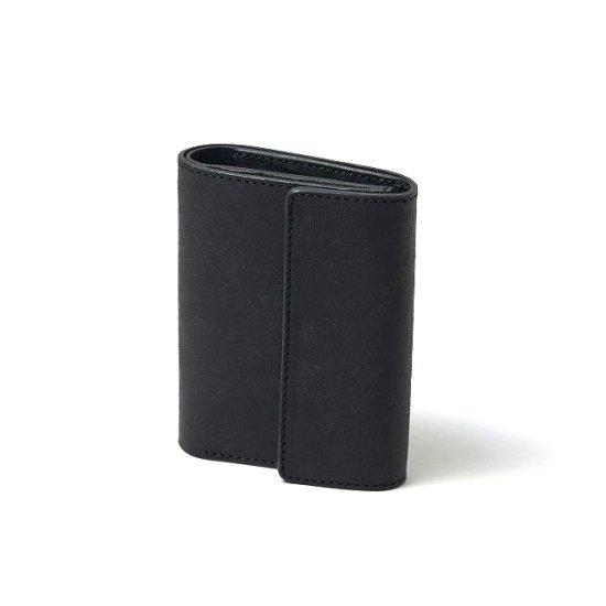 プエブロ 二つ折り財布 / ブラック (右利き用)