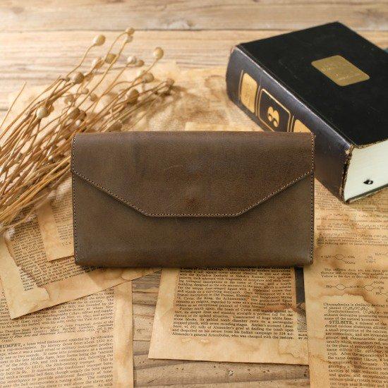 【アウトレット】ロロマ ギャルソン財布 / サーペンタイン #065 展示見本・キズ