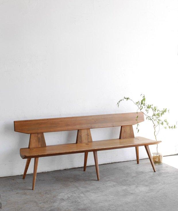 solid pine bench / Jacob Kielland-Brandt[AY]