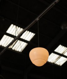 glass shade lamp[LY]