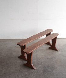 solid elm bench[LY]