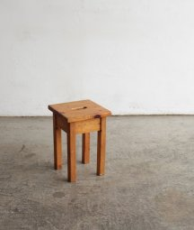 solid pine stool[LY]