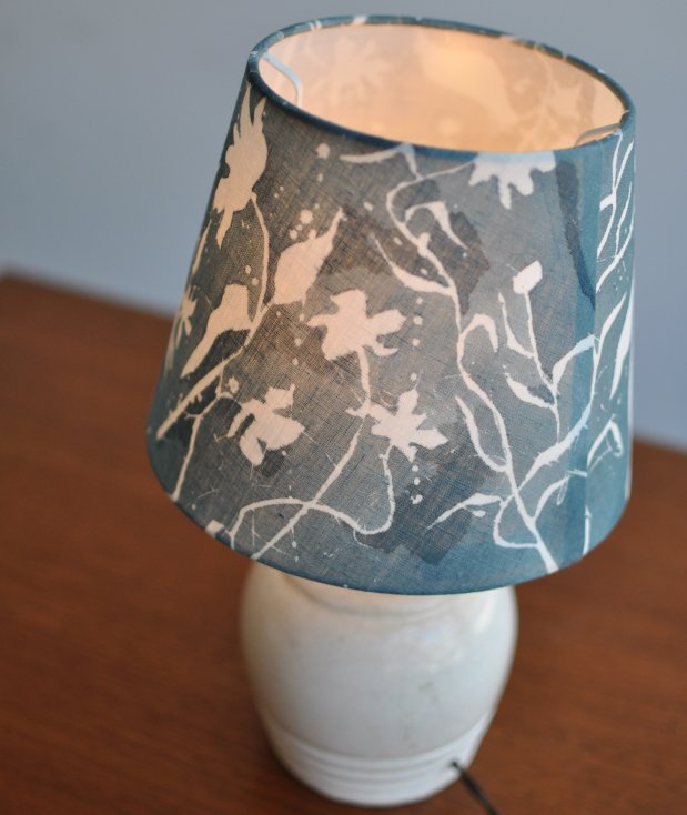 tsumikusa/contour blue ランプシェード