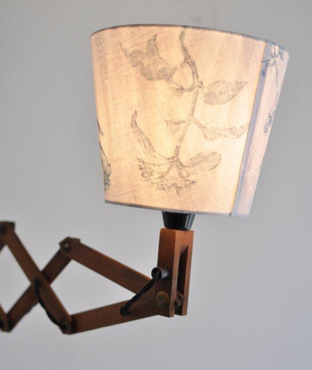 tsumikusa record+scissor lamp