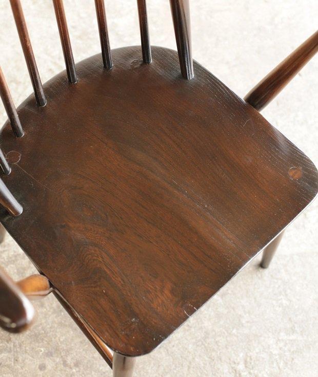 ERCOL ERCOL 6back chair (dark / straight seat)[AY]