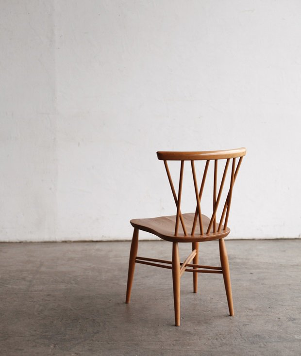 ERCOL Xback chair(bell shaped seat)[AY]
