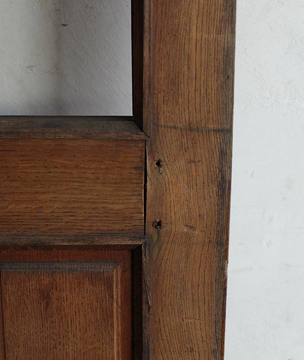 solid oak panel