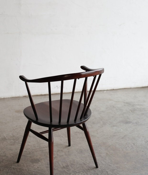 ERCOL smoker's chair/ (mahogany)[DY]