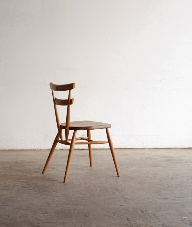 Double back chair / Green dot[DY]