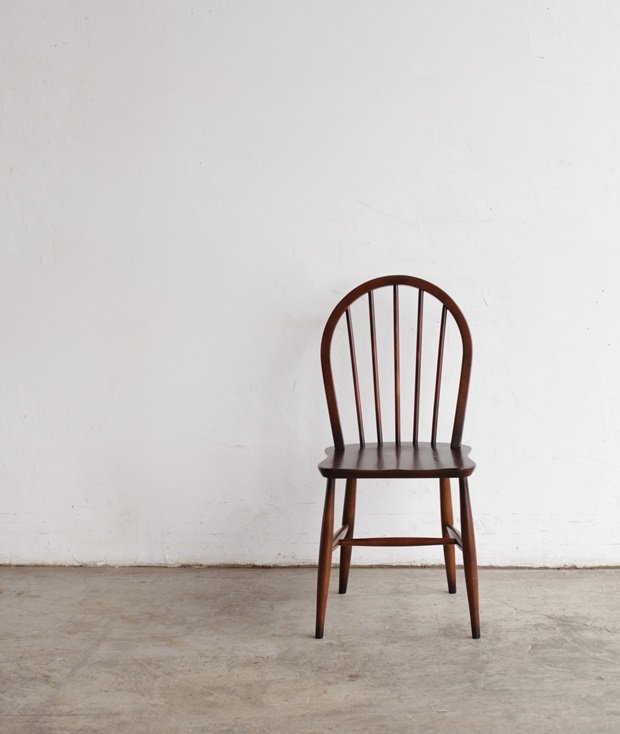 ERCOL 5back chair (bell shaped seat)[LY]