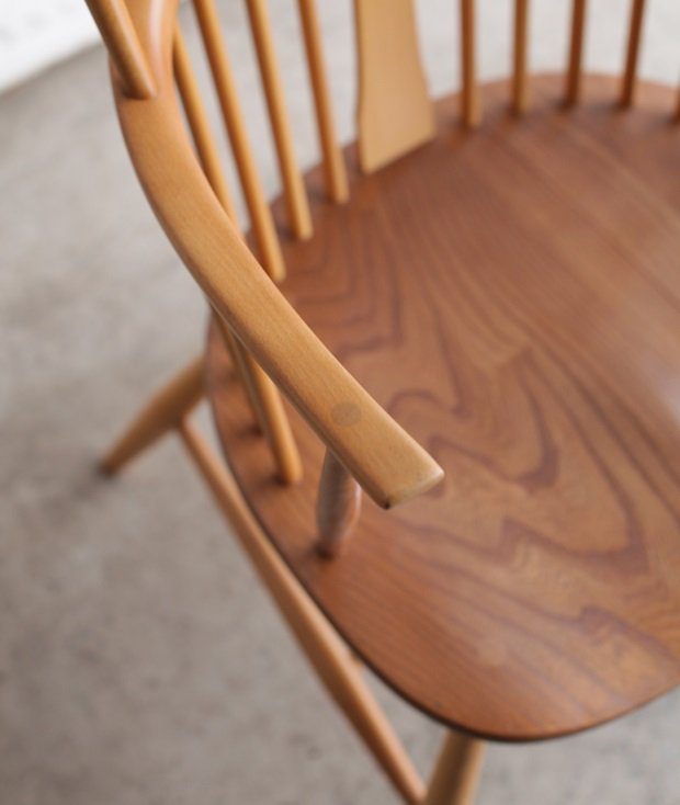 ERCOL chairmaker chair/ SH42[AY]
