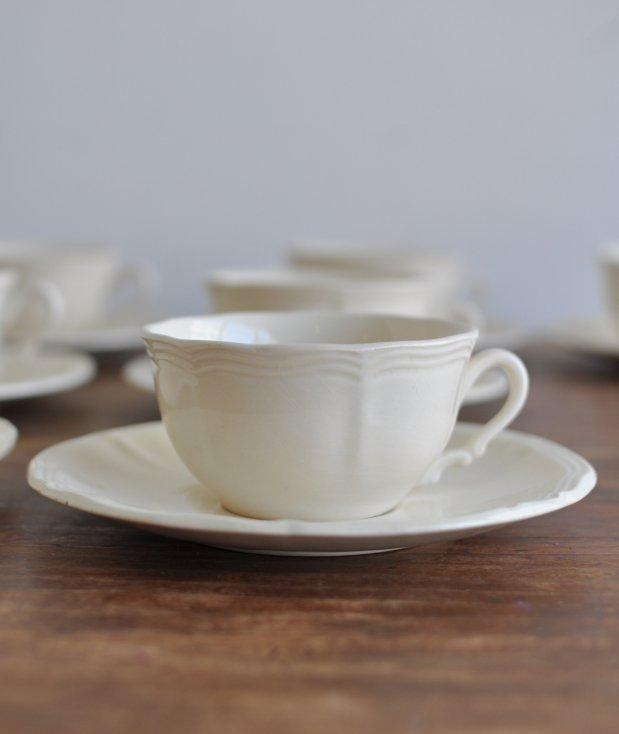 cup & saucer/Sarreguemines[AY]