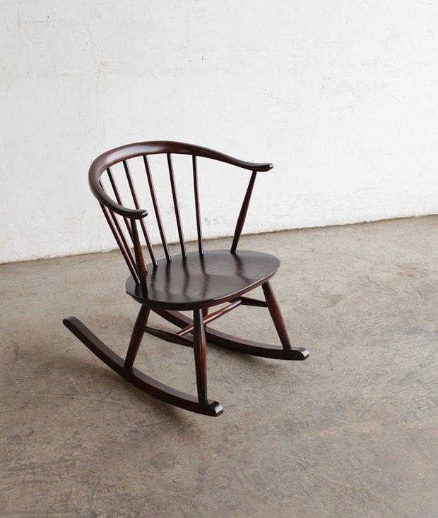 ERCOL smoker's rocking chair[DY]