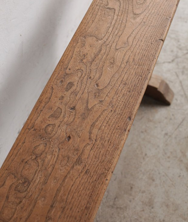 solid elm bench[AY]
