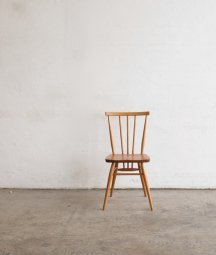 ERCOL stickback chair low / beech wood seat[LY]