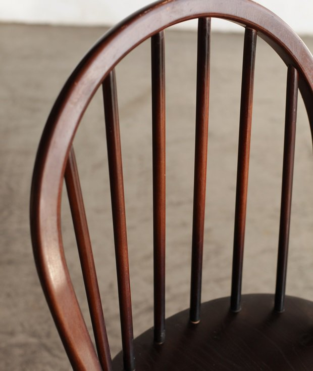 ERCOL 6back chair (mahogany)[LY]