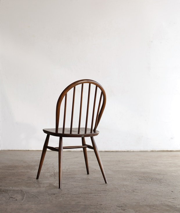 ERCOL 6back chair (olive)[LY]