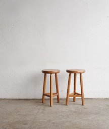 solid elm stool[LY]