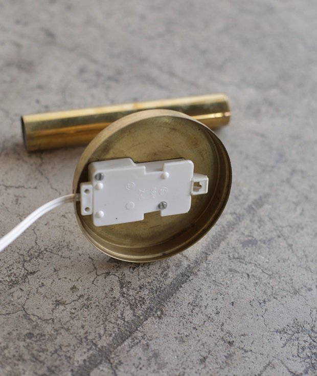 brass wall lamp / Sven Mejlstrøm[DY]