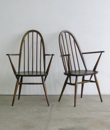 ERCOL quaker arm chair (olive)[LY]
