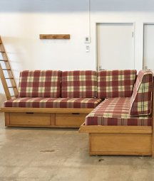 corner sofa / les arcs