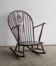 ERCOL wheelback rocking chair[LY]