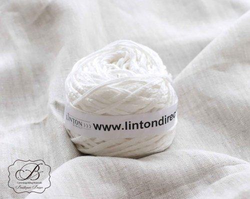 イギリス製 LINTON ホワイト tape Yarn