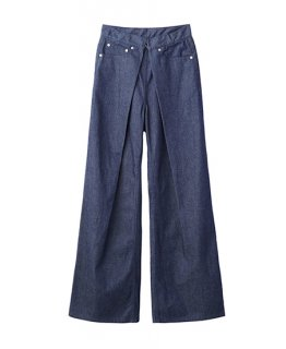 【JOHN LAWRENCE SULLIVAN】<br>WIDE DENIM PANTS/women's