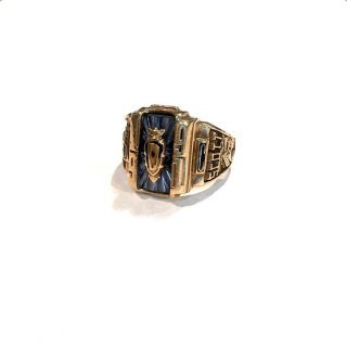 """【JOSTENS】<br>COLLEGE RING """"1991's""""<br>※used"""