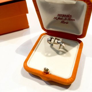 【HERMES】<br>シェーヌ・ダンクル RING ※used