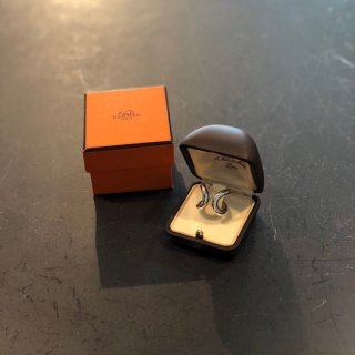 【HERMES】<br>SILVER RING ※used