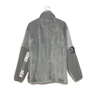 【WIND AND SEA】<br>WDS MILITARY FLEECE JACKET