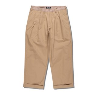 【WIND AND SEA】<br>WDS TUCK TROUSERS
