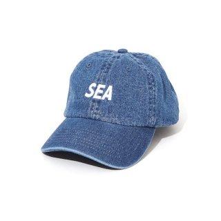 【WIND AND SEA】<br>SEA DENIM CAP