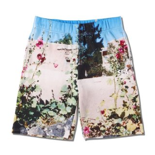 【WIND AND SEA】<br>WDS PHOTO SWEAT SHORTS