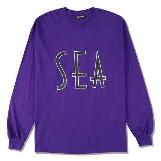 【WIND AND SEA】<br>SEA (wavy) L/S T-SHIRT