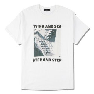 【WIND AND SEA】<br>WDS (STEP AND STEP) PHOTO T-SHIRT
