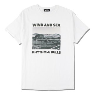 【WIND AND SEA】<br>WDS (BULLS) PHOTO T-SHIRT