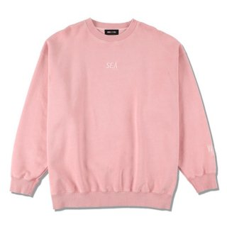 【WIND AND SEA】<br>SEA (pigment-dye) SWEAT SHIRT