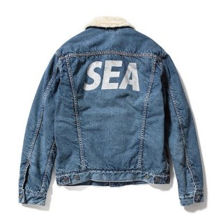 【MINEDENIM】<br>×WIND AND SEA Denim Boa G JKT