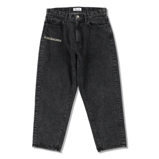 【WIND AND SEA】<br>WDS A32(INVERT) Mid Rise Wide Tapered Jeans