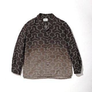 【KUON】<br>Open Collar Shirt -BISHAMON KIKKO-