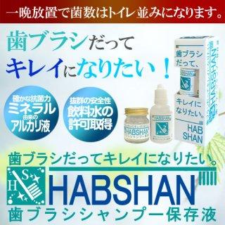 HABSHAN ハブシャン 歯ブラシシャンプー 歯ブラシ 洗浄 汚れ 菌 ケア 綺麗 臭い 匂い におい ニオイ 保存液 手入れ
