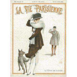 フランスの雑誌表紙 〜LA VIE PARISIENNE〜より(ジョルジュ・レオネック/Georges Léonnec)013